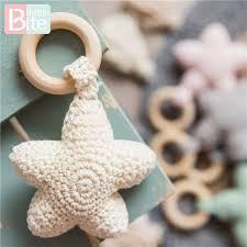 <b>Bite Bites</b> 1PC Amigurumi Star Mobile For Baby Cot Hanging Toys ...