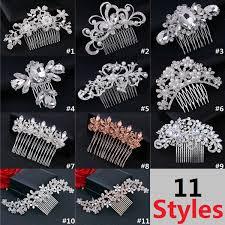 2019 <b>Korean</b> Style <b>Five Petal Flower</b> Crystal Hair Accessories ...