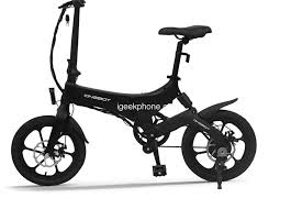 <b>Onebot S6 16 Inch</b> Folding Electric Bicycle Review (Free shipping ...