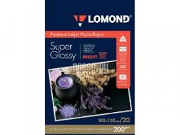 <b>Фотобумага Lomond A6 200g/m2</b> Super Glossy Bright ...