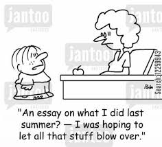 last summer cartoons   humor from jantoo cartoonslast summer cartoon humor      an essay on what i did last summer