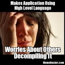 Makes Application Using High Level Language - Create Your Own Meme via Relatably.com