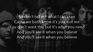 bring me the horizon what you need lyrics