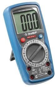 <b>Мультиметр</b> цифровой <b>ЗУБР PRO</b>-<b>815</b>-<b>T</b> (59815-T) — купить по ...