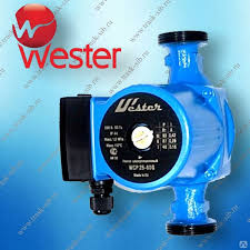 Циркуляционный <b>насос WESTER WCP 25-40G</b> с гайками, цена в ...
