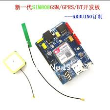 <b>High Quality SIM808</b> GPRS/GSM+GPS Shield 2 in 1 Shield GSM ...