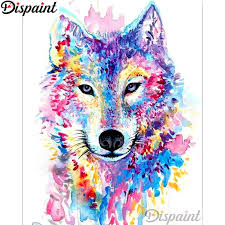 "<b>Dispaint</b> Full Square/Round Drill <b>5D DIY</b> Diamond Painting ""Colored ..."