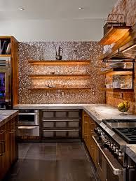 slate backsplash in kitchen