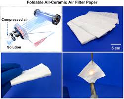 A <b>Foldable</b> All-Ceramic Air Filter Paper <b>with High</b> Efficiency and ...