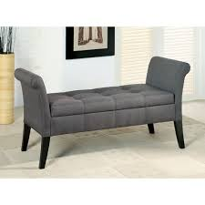 leather bedroom benches