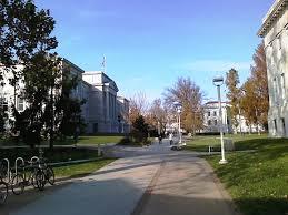 springfield missouri view toward missouri state university s historic quadrangle