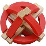 NOODLE YOUR IQ 3-D wood puzzle ELEPHANT 53 ... - Amazon.com