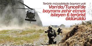 2 ilde 6 PKK'lı öldürüldü