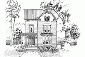 Eplans Victorian House Plan   Cozy Victorian Home   Square    Front