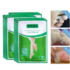 EFERO 4PC=<b>2Pack Peeling Foot Mask Exfoliating</b> Socks for ...