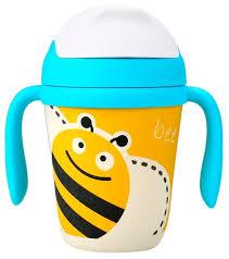 Купить <b>Поильник</b> из <b>бамбукового</b> волокна <b>Eco Baby</b> Пчёлка 300 ...