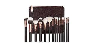STELLAIRE CHERN <b>Professional Makeup Brush</b> Set <b>15pcs</b> Wood ...