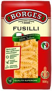 Макароны <b>BORGES Fusilli</b> группа А в/с, Италия, <b>500</b> г