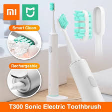 Xiaomi Mijia T300 Rechargeable Sonic Electric Toothbrush ... - Qoo10