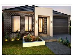 Trendy Design Ideas Of Mini st House Plans With Terraced Floor    Gallery of Trendy Design Ideas Of Mini st House Plans With Terraced Floor And White Wall Paint Color Also Glass Fences And Wooden Wall Panels Also
