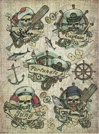 """Рисовая <b>бумага для декупажа Craft</b> Premier """"Морские истории"""", А3"""