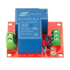Shop Generic BESTEP <b>12V 30A 250V</b> 1 Channel Relay High Level ...