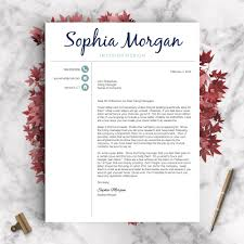 creative resume template the sophia landed design solutions creative resume template the sophia perfect resume templates 4