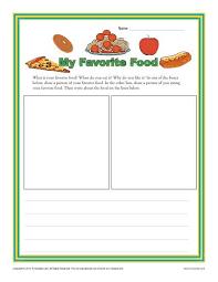 my favorite meal essay my favorite food  kindergarten writing prompt worksheet grk myfavoritefood