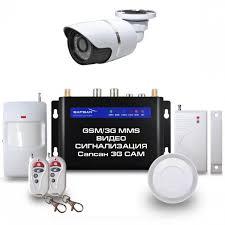 купить беспроводную <b>охранную GSM</b> сигнализацию для дома и ...