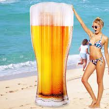 180*70*15cm Giant <b>Inflatable</b> Beer Pool Float 2017 Newest Bottle ...
