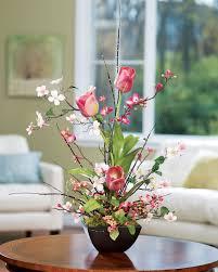 artificial flower arrangements home decor
