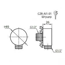 Купить <b>Шланговое подсоединение CEZARES Articoli</b> Vari CZR-C ...