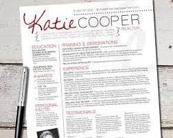 the cooper resume design   graphic design   marketing   sales    like the visual design but nay to the price  the cooper resume template design   graphic design   marketing   sales   real estate   realtor on etsy