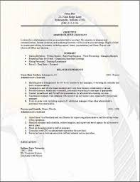 administrative assistant resume  examples  samples free edit   word