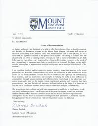 recommendation letter from a professor recommendation letter  how