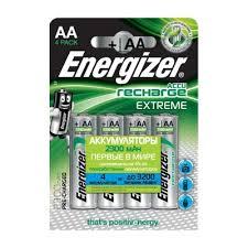 Аккумуляторные батарейки <b>Energizer</b> Extreme <b>NH15</b>/<b>AA</b> 2300 ...