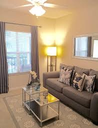 apartment rental living room small space living nautical navy and grey apartment living room on a b