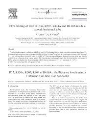 (PDF) Flow-boiling of <b>R22</b>, <b>R134a</b>, R507, R404A and R410A inside ...