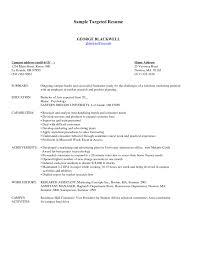 targeted resume template word sample targeted resume format word target resume samples targeted resume examples