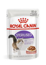 <b>Sterilised</b> (в соусе) Влажный корм - <b>Royal Canin</b>