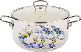 """<b>Кастрюля</b> Катюша """"Весна"""", с крышкой <b>2.5 л</b> — купить в интернет ..."""