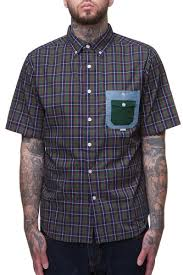 <b>Рубашка CROOKS & CASTLES</b> Squad Check (Forest, S) | www.gt-a ...