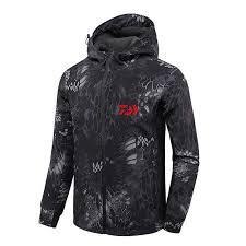4 Colors New Men <b>Autumn Winter</b> Waterproof Fishing Daiwa Jacket ...
