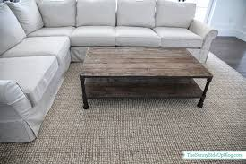 Jute Rug Living Room Family Room Decor Update The Sunny Side Up Blog