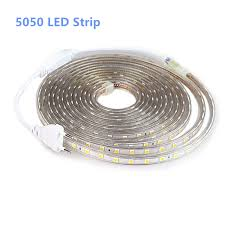 SMD <b>5050</b> AC <b>220V LED</b> Strip Outdoor Waterproof <b>220V 5050 220</b> ...