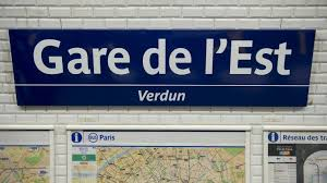 Image result for gare du est paris