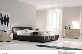 BedroomLuxury Italian Bedroom Furniture With Dark Grey Frame Bed And Cream Drawer Also White  E