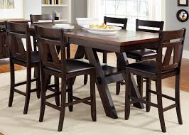 Dining Room Set Counter Height 7 Piece Counter Height Black 7 Piece Dining Set Is Also A Kind Of