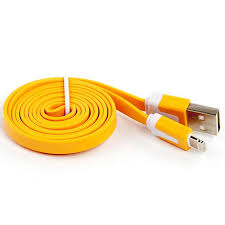 liberty project дата кабель apple lightning плоский узкий yellow