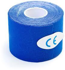 """Кинезиотейп """"<b>Bradex</b>"""", цвет: синий, 5 см х 5 м — купить в ..."""